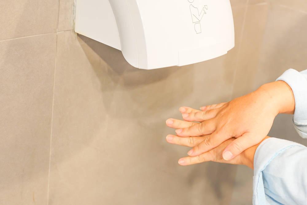 Los secadores de manos eléctricos también en el hogar