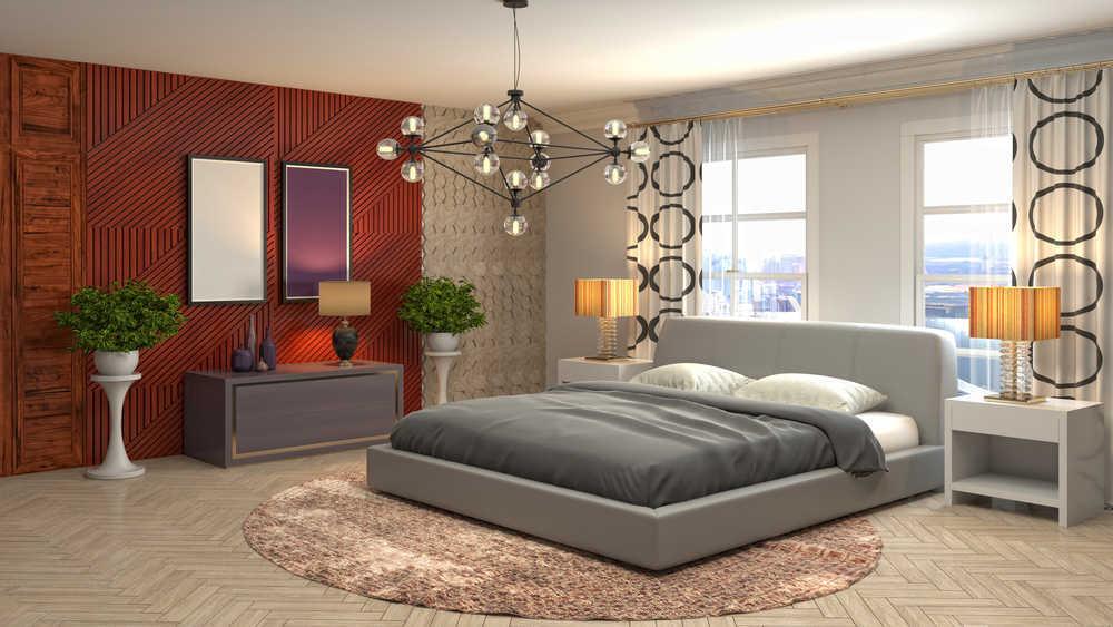 La comodidad en el dormitorio garantiza descanso y felicidad en el hogar